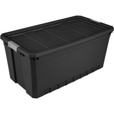 Large Black Storage Boxes With Lids
