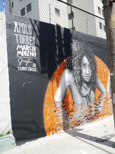 Apolo Torres  (Mural SESC santana, são paulo, brasil, março 2014)