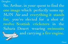 """Cabin Pressure, """"The awful thing is... I sort of know what you mean."""""""