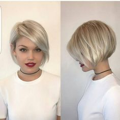 50 Medium Bob Hairstyles for Women Over 40 in 2019 - Best Wedding Style - bettysmith. - 50 Medium Bob Hairstyles for Women Over 40 in 2019 – Best Wedding Style – bettysmith. Bob Hairstyles 2018, Choppy Bob Hairstyles, Short Pixie Haircuts, Cool Hairstyles, Haircut Short, Haircut Styles, Medium Hairstyles, Bob Haircut For Round Face, Pixie Bob Haircut