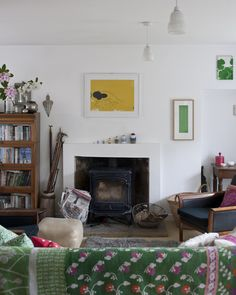 my scandinavian home: Eclectic, vintage inspired spaces in Scotland