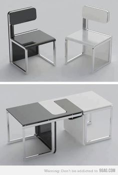 Transforming Furniture - Chairs/Table
