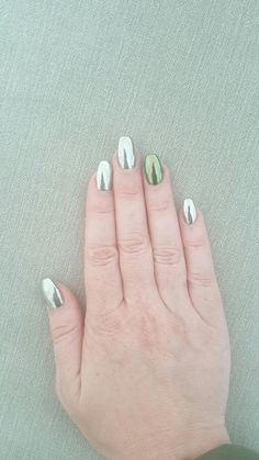 Chrome Mirror Nails