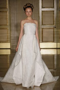 A favourite for many brides that have gone before, strapless is still a key trend for 2013 and these are our hot picks of the popular style