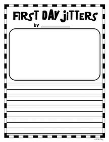 For Jitter juice writing activity.