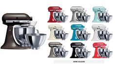 KitchenAid KSM160 Artisan Stand Mixer - Mixers & Food Processors - Food Preparation - Kitchen Appliances | Harvey Norman Australia