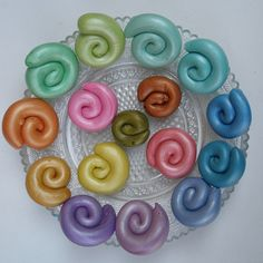 Premo Pearl colored with alcohol inks - The origin of all my new beads | Flickr - Photo Sharing!