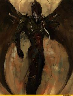 dark eldar,warhammer 40000,фэндомы,Scourge (WH 40000)