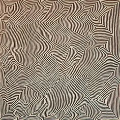 ©Ronnie Tjampitjinpa  Papunya Tula Artists  Founders of the Central and Western Desert Art Movement