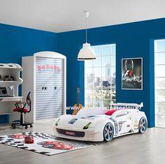 Kρεβάτι αυτοκίνητο GT 01 W Full Extra