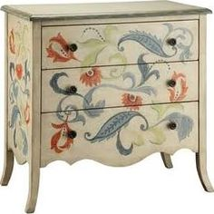hand painted decorative furniture