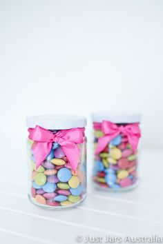 Cute favour ideas from Just Jars Australia 150ml round jar