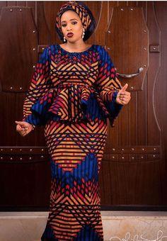 Super Stylish Ankara Skirt and Blouse Styles for Beautiful Ladies.Super Stylish Ankara Skirt and Blouse Styles for Beautiful Ladies African Lace Styles, Beautiful Ankara Styles, African Lace Dresses, African Dresses For Women, African Attire, African Wear, African Outfits, African Clothes, African Fashion Ankara
