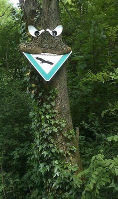 A este árbol no le gustan las señales