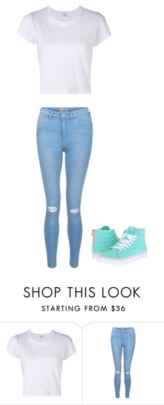 """""""untitled"""" by staylookinggood ❤ liked on Polyvore featuring RE/DONE, New Look and Vans"""