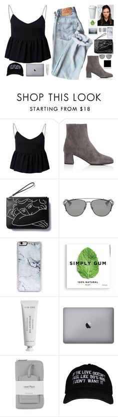"""""""Untitled #2865"""" by wtf-towear ❤ liked on Polyvore featuring Prada, Christian Dior, Zero Gravity, Alasdair, Byredo and Warehouse"""