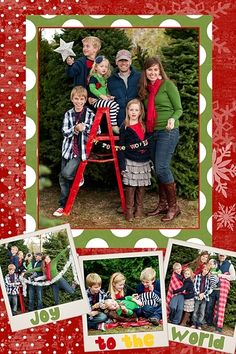 Christmas Family Photo - The Shoot It - Where Photographers Share
