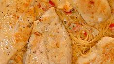 Creamy Chicken Pasta Italian Chicken Pasta, Creamy Chicken Pasta, Creamy Tomato Sauce, Creamy Spinach, Parmesan Crusted Chicken, Chicken Parmesan Recipes, Chicken Breast Recipes Healthy, Easy Chicken Recipes, Pesto Shrimp