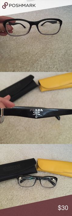Closet cleanout! 🎉 Authentic prada frames. Lenses can be removed and replaced. Retails for $300+ Prada Accessories Glasses