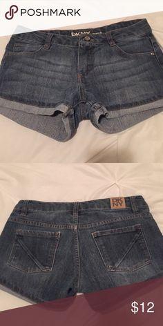 cute shorts!! super cute DKNY shorts, kinda stretchy! DKNY Bottoms Shorts