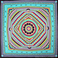 The Sophie's Universe blanket from Scheepsjeswol was created for the 2015 Crochet Along by Dedri from Look At What I Made blog - the CAL was being hosted by the Official CCC Social Group on Facebook. Sophie's Universe is a continuous, square blanket which is worked in the round, with photo tutorials available in 20 parts from Dedri's blog. Intermediate crochet skills are required and there is also a wealth of supporting information on the blog. The Colour Pack includes the following...