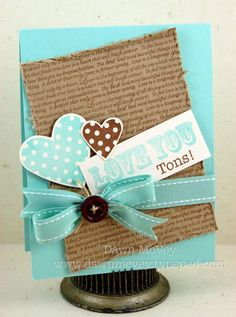 Great card - love the colours♥