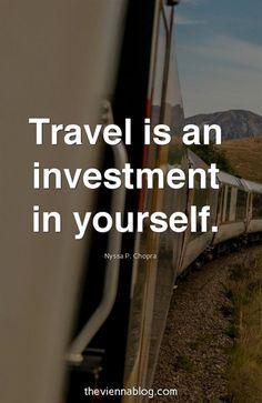 Travel / Inspirational Quotes, Travel Wanderlust, Travel Adventure, Solo, Female, Alone. Check more Inspirational Travel Quotes at www.theviennablog.com #theviennablog #travel #quotes #TravelQuotes