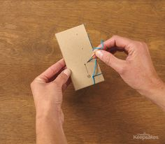 Download this Free Mini Album Binding Pattern | All About Albums | Creating Keepsakes