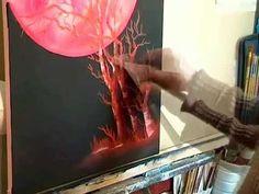 live painting by John Κόκκινο Το Φεγγαράκι ..LIVE ionnis vamvakaris BOB ROS - YouTube