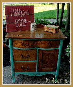 ART IS BEAUTY: Quick Commode Makeover