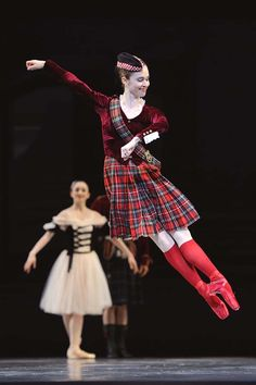 The San Francisco Ballet's Courtney Elizabeth in Balanchine's 'Scotch Symphony'. Photo © Erik Tomasson