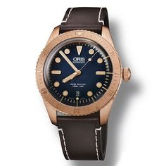 The latest addition to the phenomenally popular @oriswatch Divers Sixty-Five is the Carl Brashear limited edition. Made from bronze with a beautiful blue dial, this 42mm piece honours the U.S. Navy's first African-American master diver. It's also sto