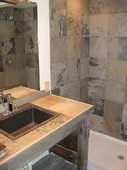 Slate Shower, Kitchen Island, Google, Image, Home Decor, Island Kitchen, Decoration Home, Room Decor, Home Interior Design