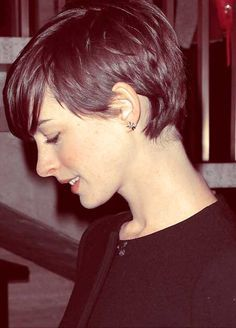 I love this & am terrified that I love it a year into growing mine out! 2013 Short Haircut for women   Short Hairstyles 2013