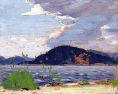 Tom Thomson - Spring, Canoe Lake 1916