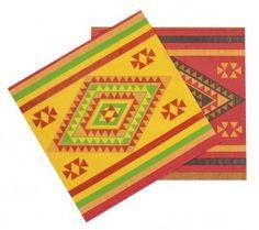 Serviettes mexicaines - decoparty