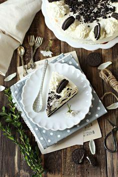 Słodkie inspiracje: Sernik oreo Oreo, Camembert Cheese, Food And Drink, Dairy, Tableware, Dinnerware, Dishes, Place Settings