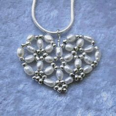 Hearts Of Lily Beaded Heart inspieation