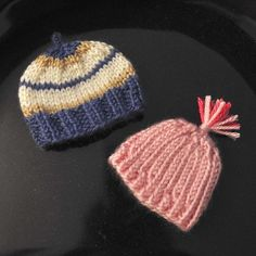 So Soft Preemie Beanies knitting patterns. $0.00 - free on Craftsy.com and ready to download.