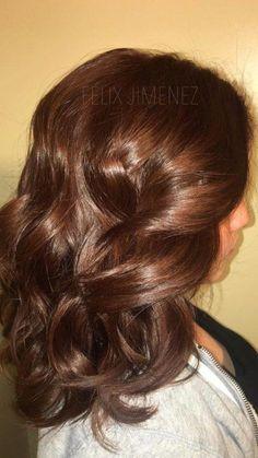 Cinnamon Brown Hair Color