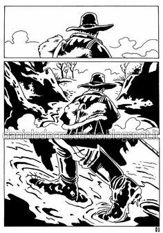 DANIELE DE CRESCENZO: FUMETTI  Django comics 1