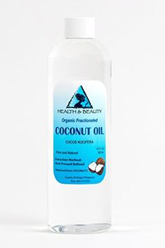 Coconut Oil 76 Degree Organic Carrier 100 Pure Cold Pressed 12 oz -- Check this awesome product by going to the link at the image. Coconut Oil For Face, Organic Coconut Oil, Organic Body Wash, Extra Virgin Coconut Oil, Baby Shampoo, Fractionated Coconut Oil, Carrier Oils, Massage Oil