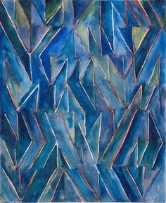 """Boothe, Untitled, 1988, Untitled, 22 1/2"""" x 22"""", watercolor on paper"""