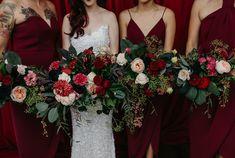 Real Wedding – Nikki + Scott - Wedding Bouquets - Wedding Florals - Bridal Party - Bridesmaids