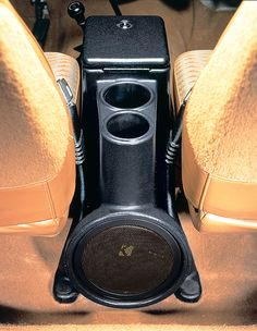 Jeep Audio System - Jeep Wrangler Audio - Intra-Pod Center Console Speaker and Subwoofer
