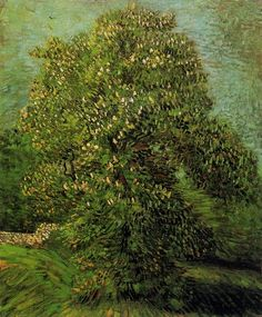 Vincent Van Gogh - Chestnut Tree in Bloom