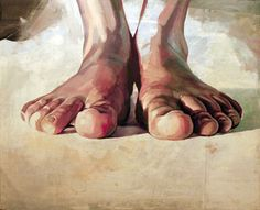 Pensando con los pies Art Print by Cristian Blanxer Figure Painting, Figure Drawing, Ap Studio Art, A Level Art, Ap Art, Gcse Art, Life Drawing, Feet Drawing, Art Studios
