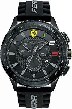 Ferrari Scuderia XX Mens Watch 0830243 - watches gold mens popular mens watches mens black on black watches Fancy Watches, Mens Watches For Sale, Latest Watches, Best Watches For Men, Amazing Watches, Stylish Watches, Men's Watches, Beautiful Watches, Sport Watches