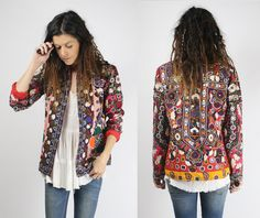 GYPSY JACKET Vintage bohemian jacket #renewvintage