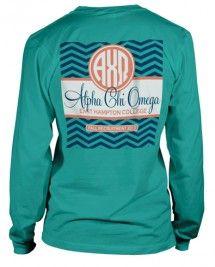 Alpha Chi Omega Long Sleeve T-shirt